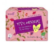 Прокладки гигиенические Натуральный хлопок YEJIMIN Rich herb cotton sanitary pads small 16шт малые: фото