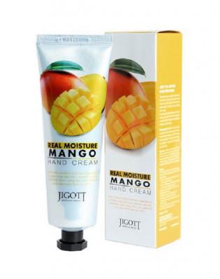 Крем для рук увлажняющий с маслом манго JIGOTT Real Moisture Mango Hand Cream: фото