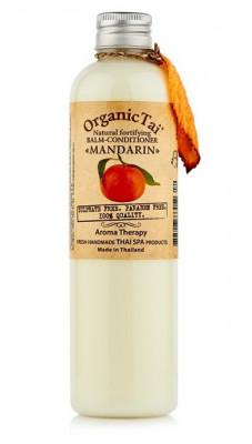 Бальзам-кондиционер безсульфатный с мандариновым маслом ORGANIC TAI Natural Fortifying Balm-Conditioner Mandarin 260 мл: фото